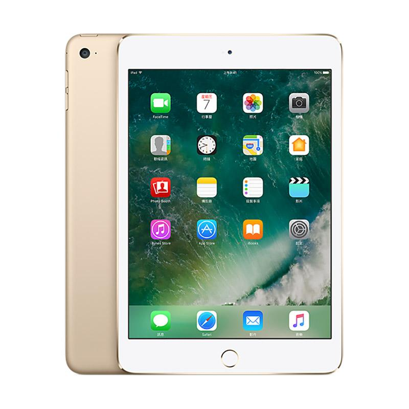 apple ipad mini4 lte 64gb 平板电脑 (银,金)