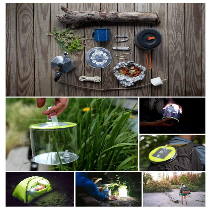 美國LUCI充氣太陽能露營燈