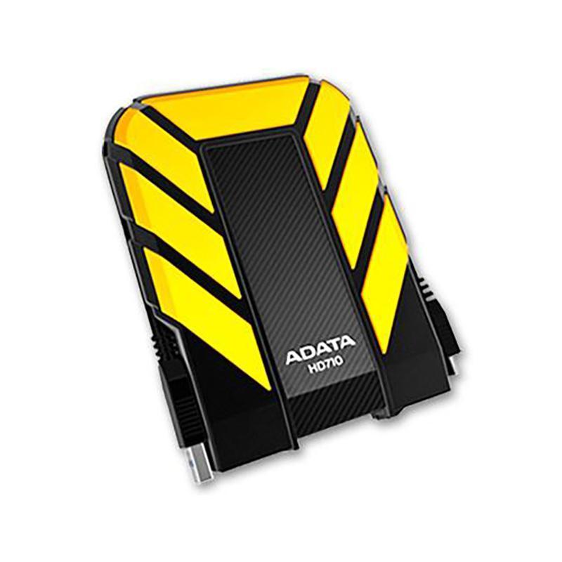 ADATA 威剛 HD710 2TB USB 3.0 2.5吋 軍規防水防震行動硬碟 (黑、黃、藍)