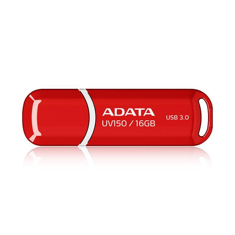 ADATA 威剛 UV150 USB 3.0 16GB 隨身碟 (黑、紅)