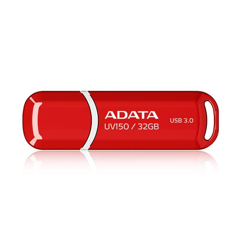 ADATA 威剛 UV150 USB 3.0 32GB 隨身碟 (黑、紅)