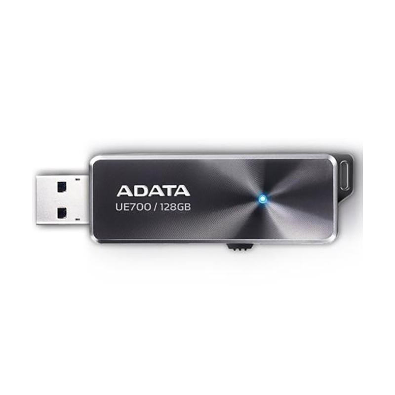 ADATA 威剛 UE700 USB 3.0 128G 隨身碟 灰