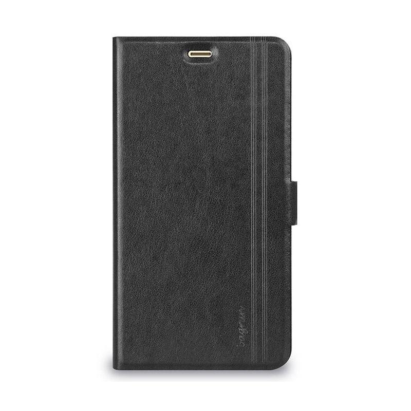 Bagrun側掀皮套Xiaomi 紅米 Note 3 經典黑