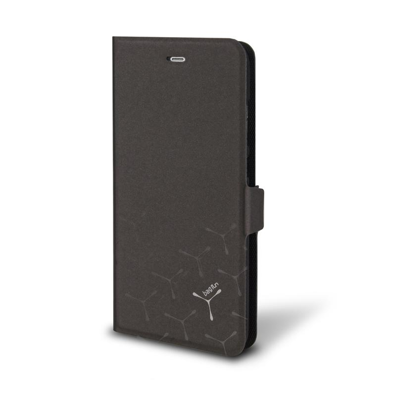 Bagrun紅米 Note 4 側掀皮套 黑色