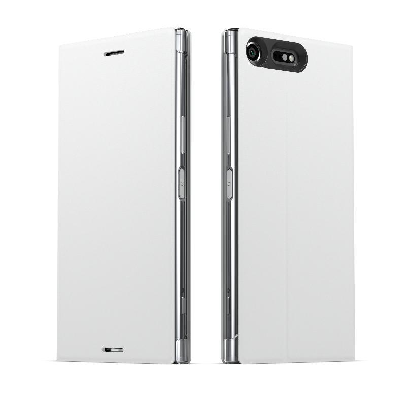Xperia XZ Premium側翻式時尚保護套(SCSG10)