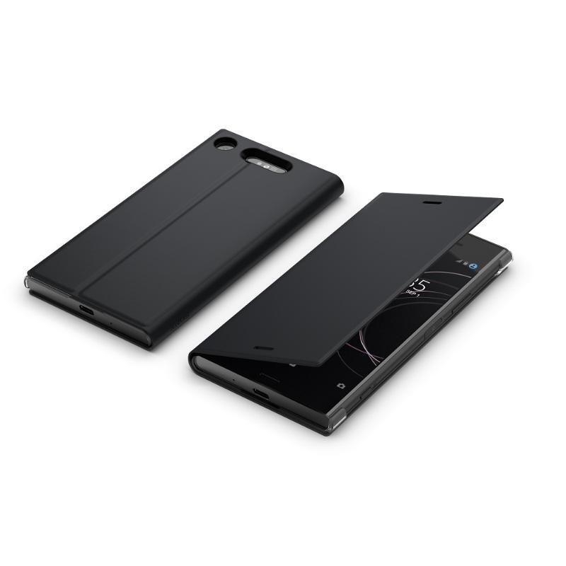 Xperia XZ1側翻式時尚保護套(SCSG50)