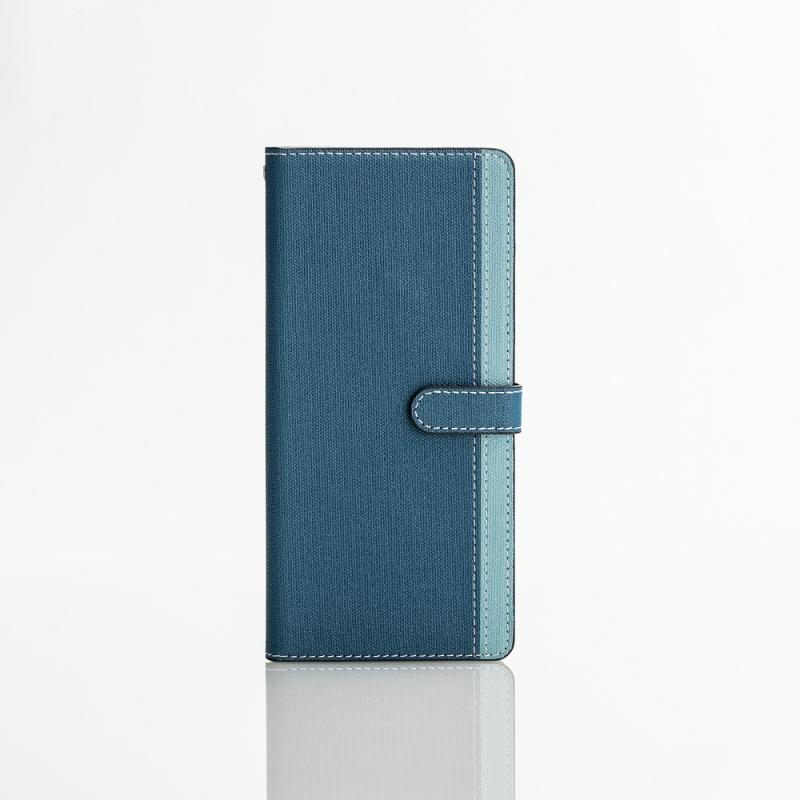 CASE SHOP SONY Xperia XZ1 Compact專用側掀站立式皮套-藍