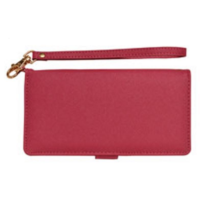 RASTA BANANA 腕掛式手皮套(紫紅)