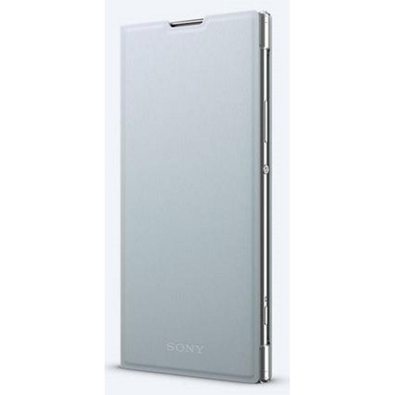 SONY Xperia XA2 plus 側翻式皮套 銀(SCSH60)