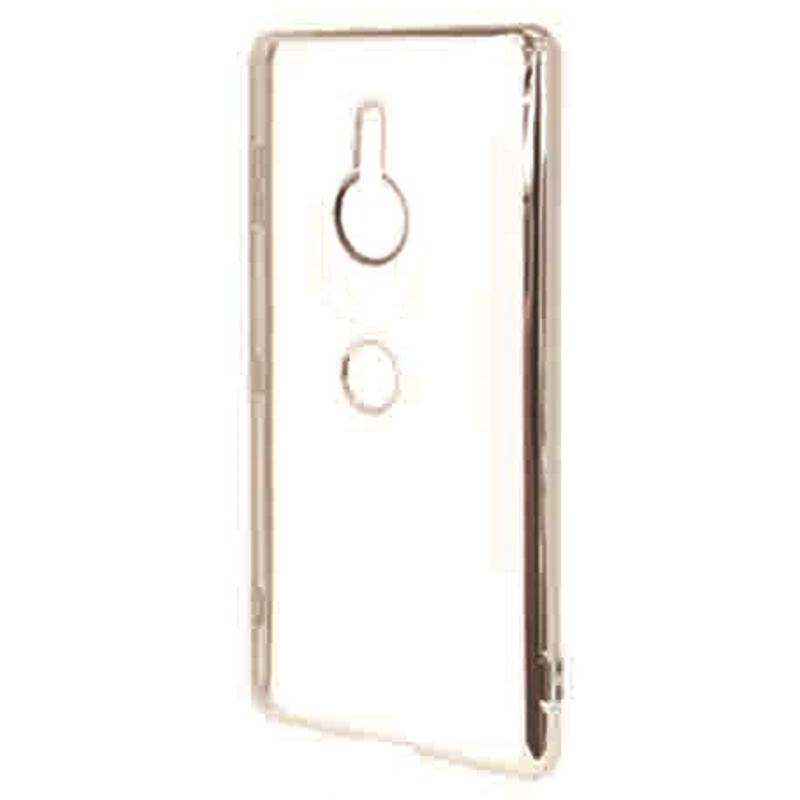 RASTA BANANA XZ3 電鍍邊框透殼 - 銀色