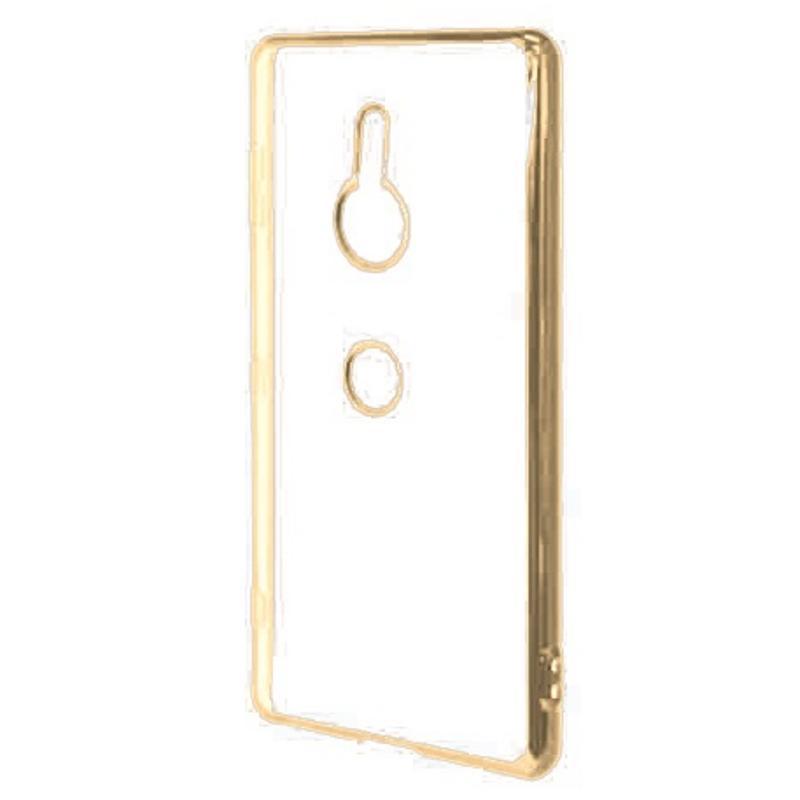 RASTA BANANA XZ3 電鍍邊框透殼 - 金色