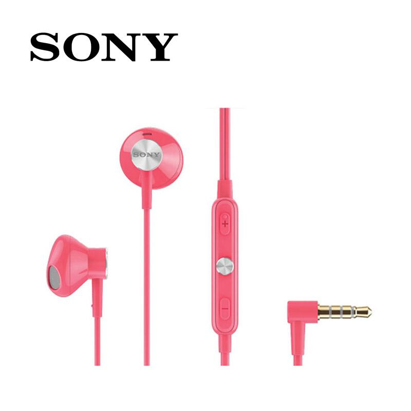 SONY STH30 立體聲耳機 粉紅色