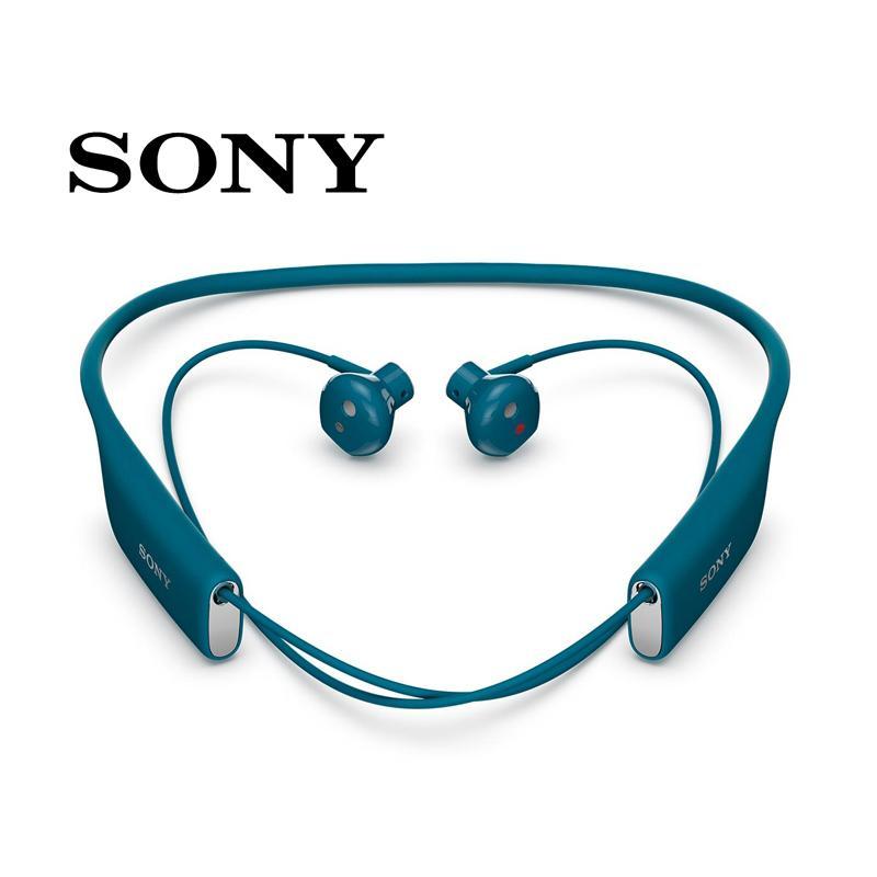 【會員加價購】SONY SBH70 無線藍牙耳機 (防水IP57) 藍色