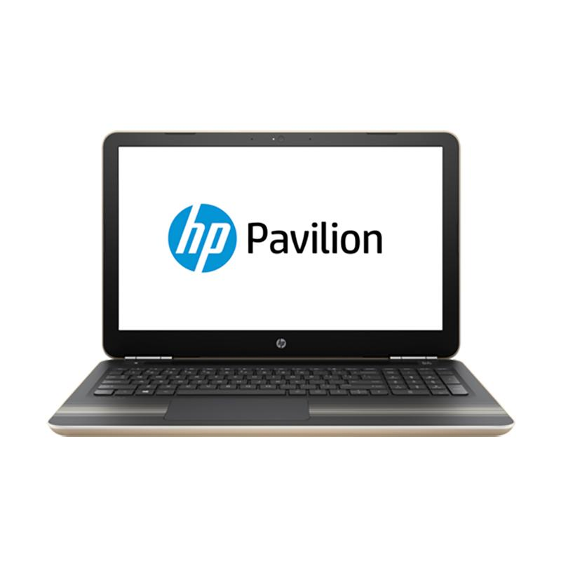 【送筆電包】HP Pavilion 15-au166TX(i5-7200U) 8G 128G 1T 金 15.6吋 筆記型電腦