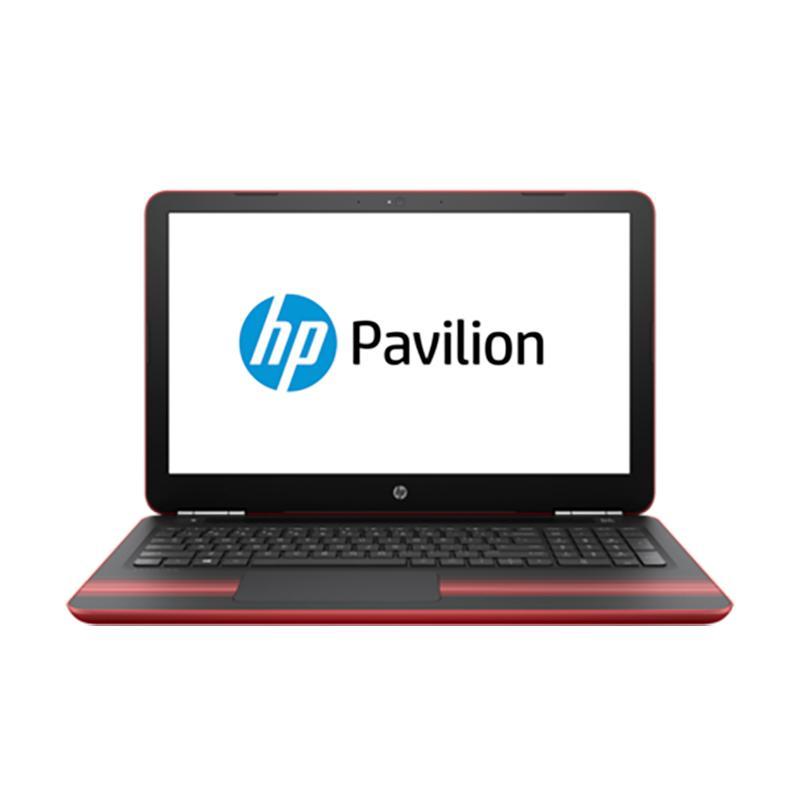 【送筆電包】HP Pavilion 15-au142TX(i5-7200U) 4G 1T 紅 15.6吋 筆記型電腦