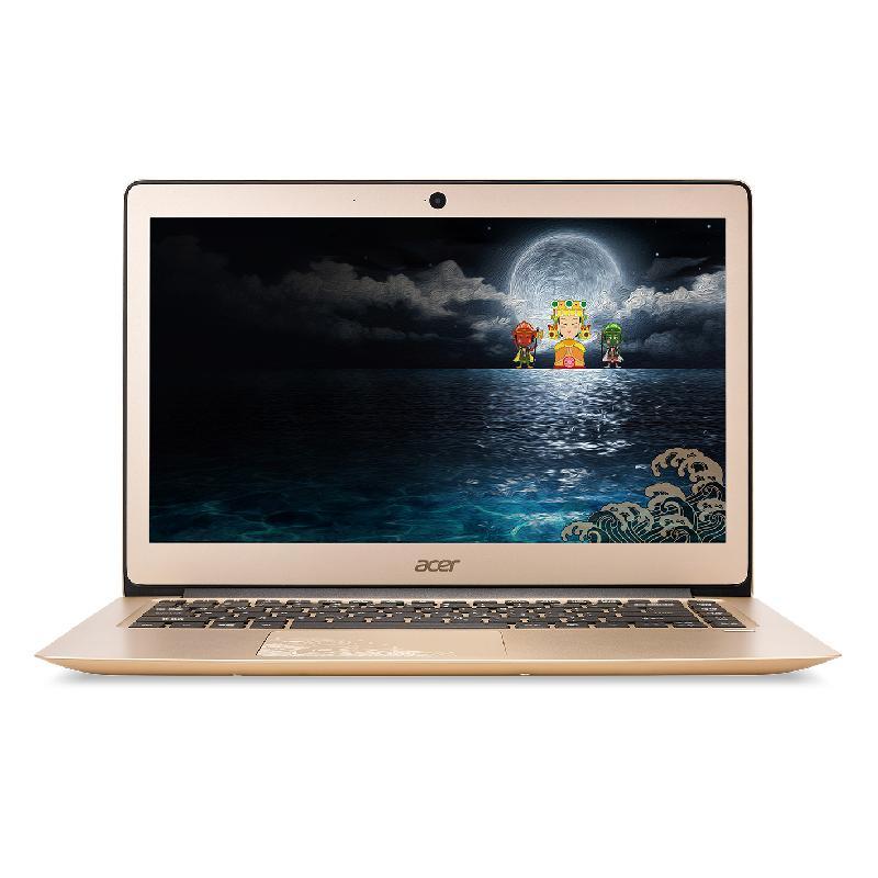 【送HP印表機】ACER SF314-51(i5-7200U) 8G 256G 金 14吋 大甲媽祈福限定版