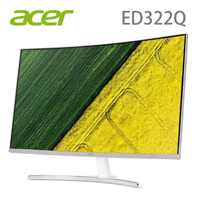 Acer 32型VA曲面寬螢幕_ED322Q
