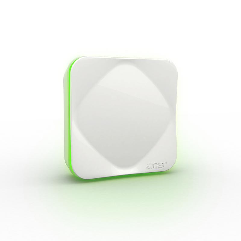 acer 智慧空氣品質偵測器 白