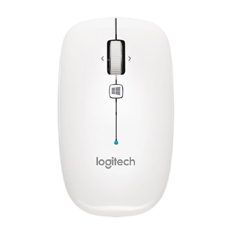 Logitech M557藍牙無線滑鼠 珍珠白