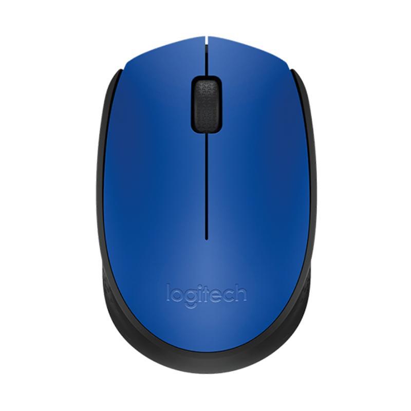 Logitech 羅技 M171 無線滑鼠 (灰黑、紅、藍)