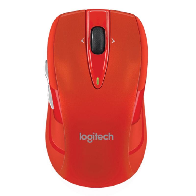 Logitech M545 無線滑鼠 紅