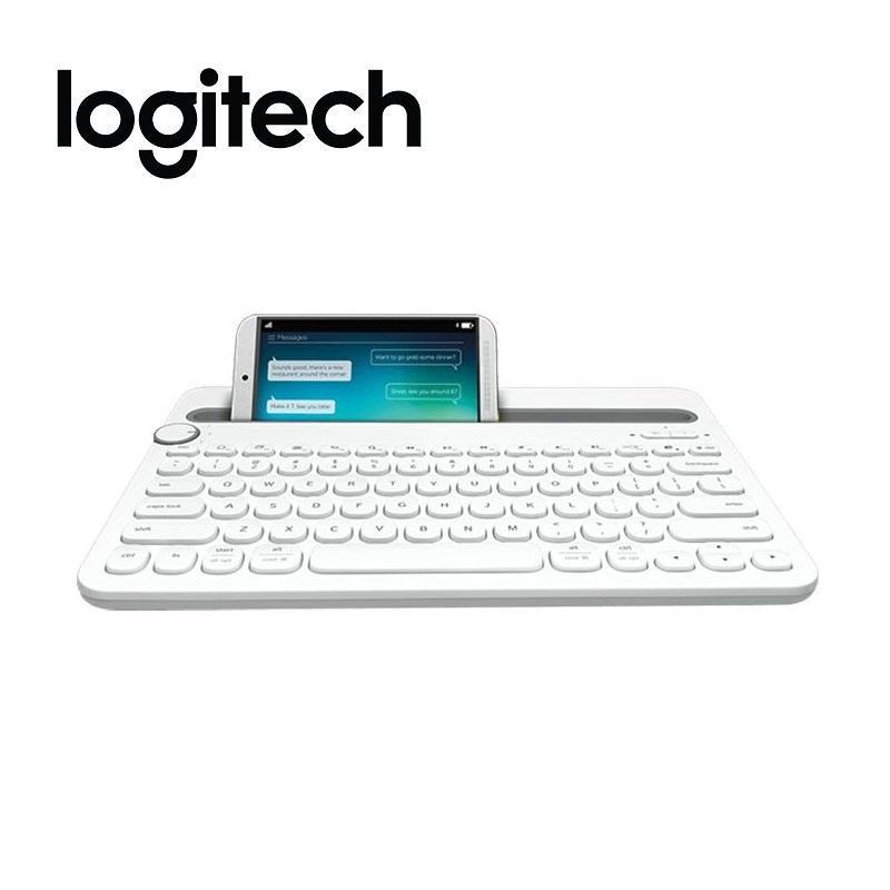 Logitech 羅技 K480 跨平台藍牙鍵盤 白
