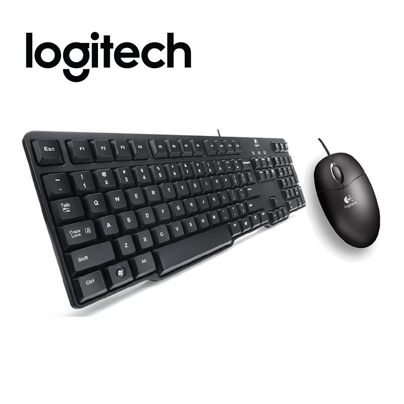 Logitech 羅技 MK100 有線鍵鼠組二代