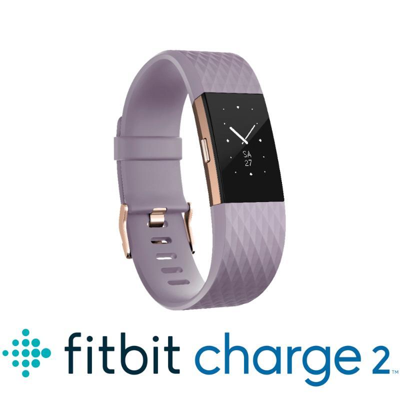 藍芽手錶 Fitbit Charge2 薰衣草紫小