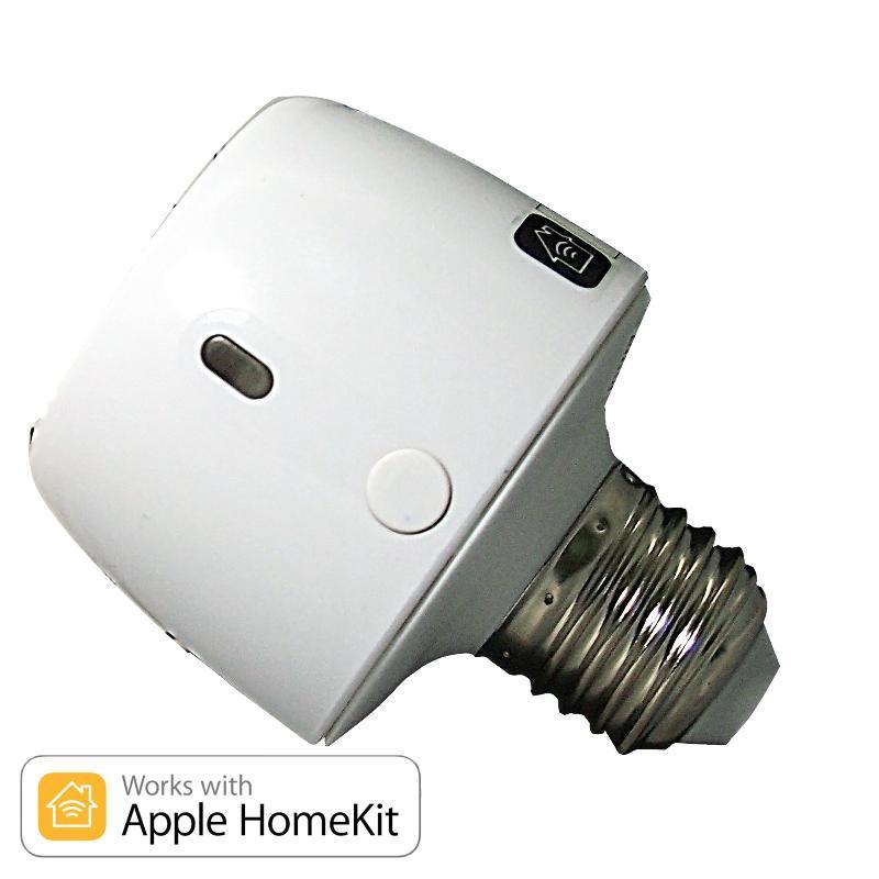 智能家電-APPLE HomeKit 無線智慧燈泡轉接器 CMNDKT-001-WHT