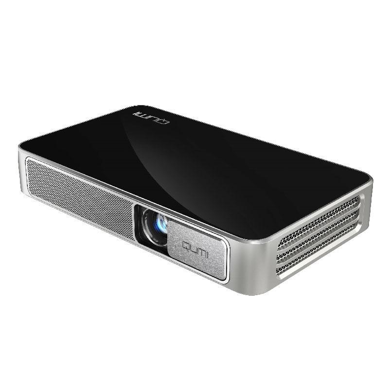 Vivitek 麗訊 Qumi Q3 Plus 720P 智慧型 LED 隨身投影機 黑