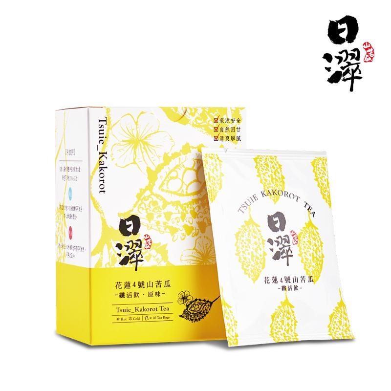 日濢 花蓮4號山苦瓜纖活飲(10包/盒)