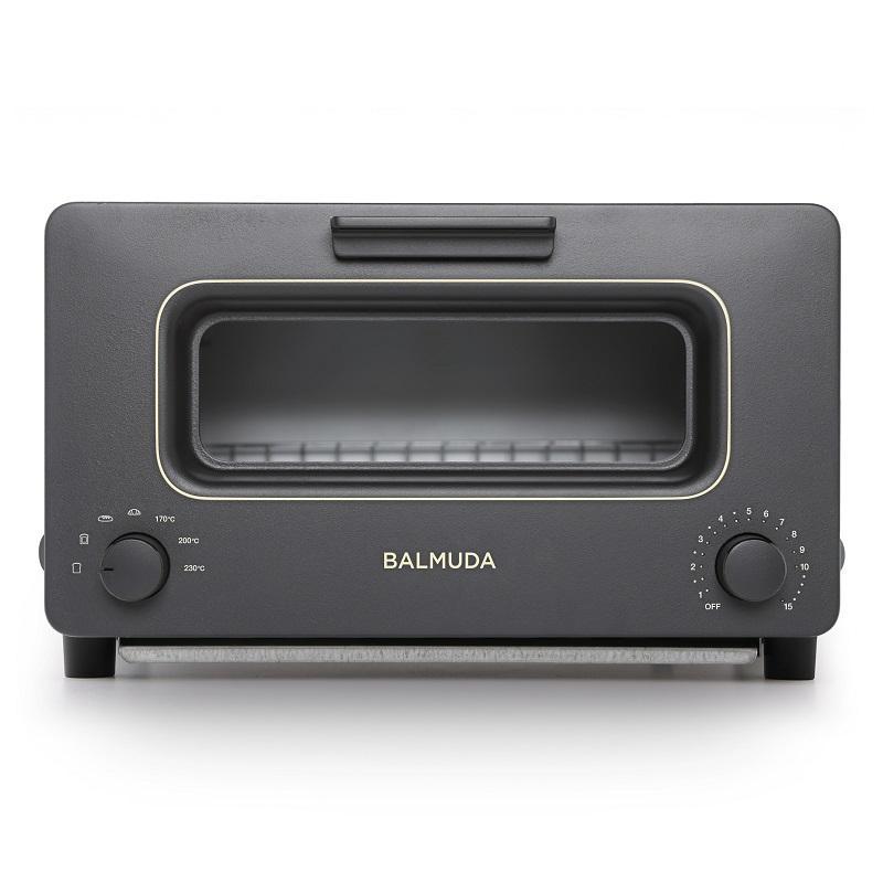 【神級烤麵包機】BALMUDA K01D-KG The Toaster 蒸氣烤麵包機 黑【限量5台】