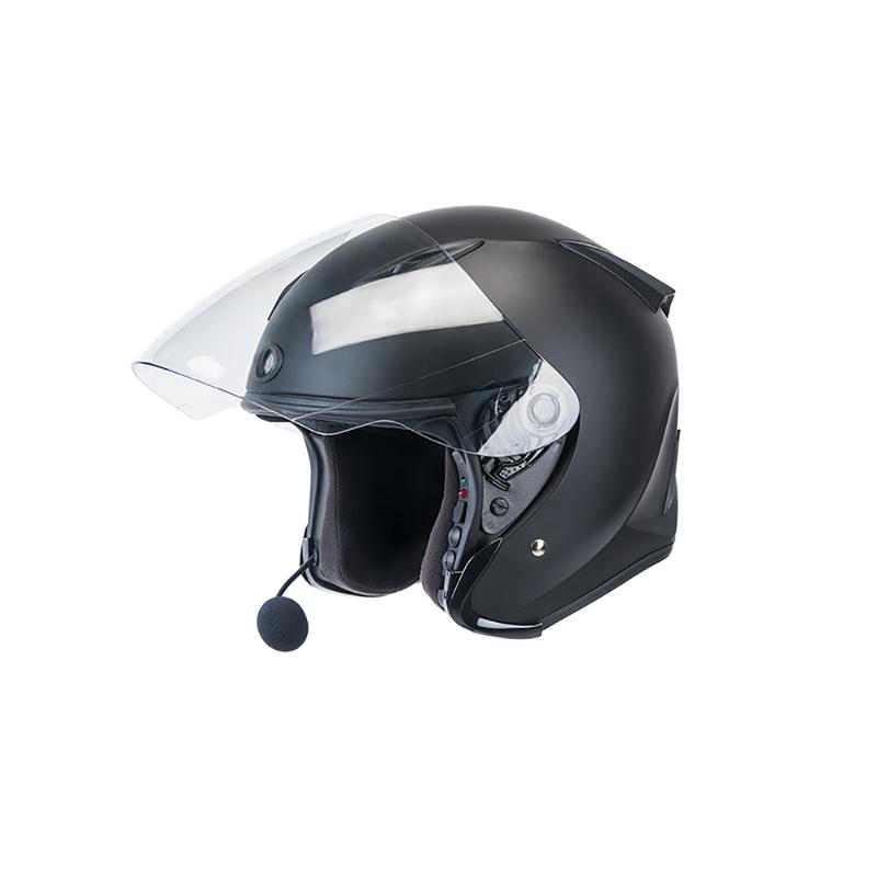 JARVISH Flash F1 3/4 智慧安全帽 黑 XL