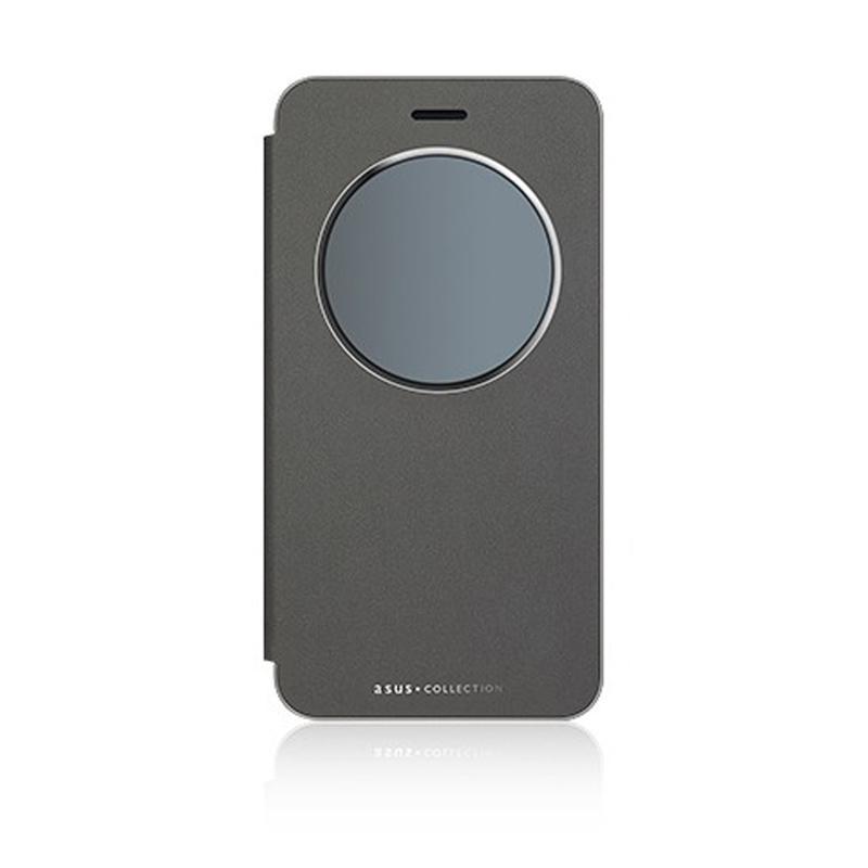 ASUS ZenFone 3 ZE520KL 智慧型透視皮套 黑