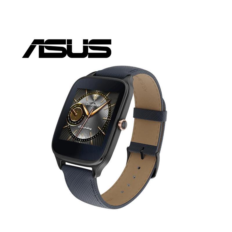 ASUS ZenWatch2 1.63 快充 真皮伯爵藍(WI501Q)