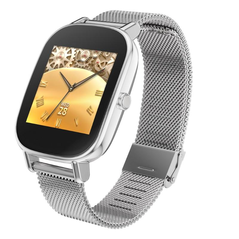 ASUS ZenWatch2 1.45吋 快充 優雅銀鍊(WI502Q)