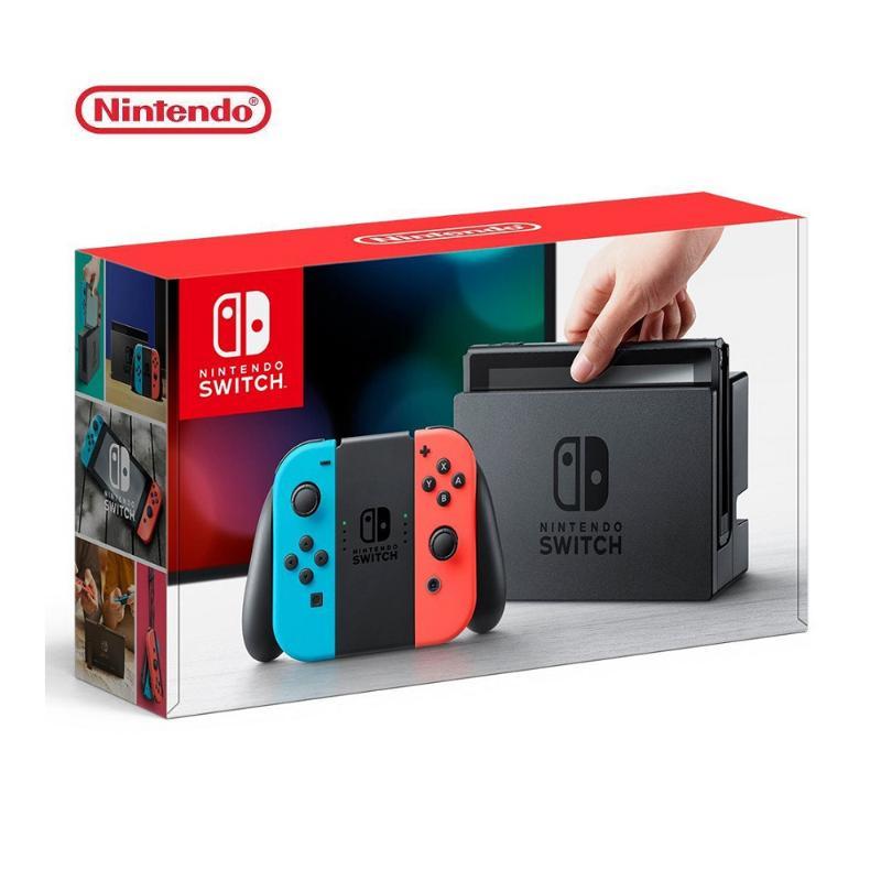 ★超值配件組★ Nintendo 任天堂 Switch 主機 電光紅藍 (台灣公司貨)