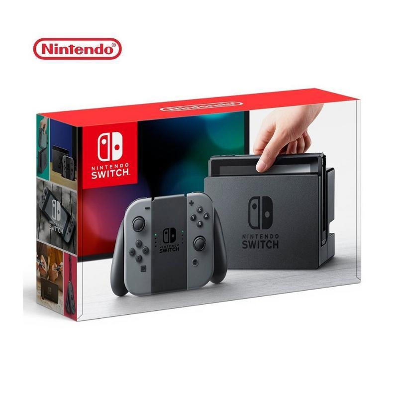 ★超值配件組★ Nintendo 任天堂 Switch 主機 灰黑 (台灣公司貨)