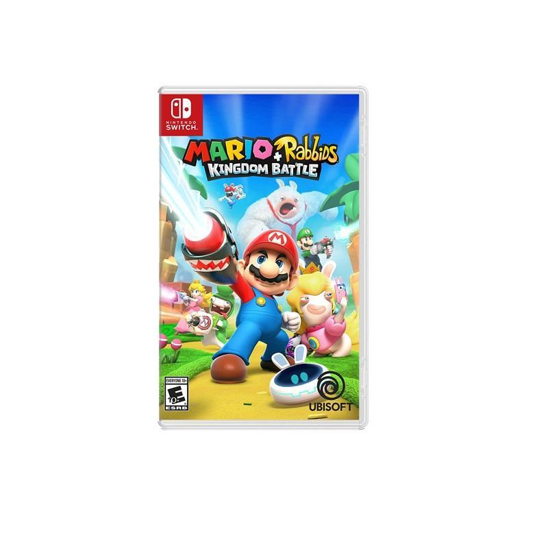 Nintendo Switch 瑪利歐+瘋狂兔子 王國之戰 中文版
