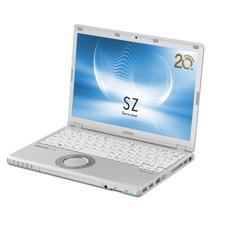 【送3好禮】Panasonic CF-SZ(i5-7300U) 8G 256GB SSD M.2 CF-SZ6RDSTTQ 銀12.1吋筆電