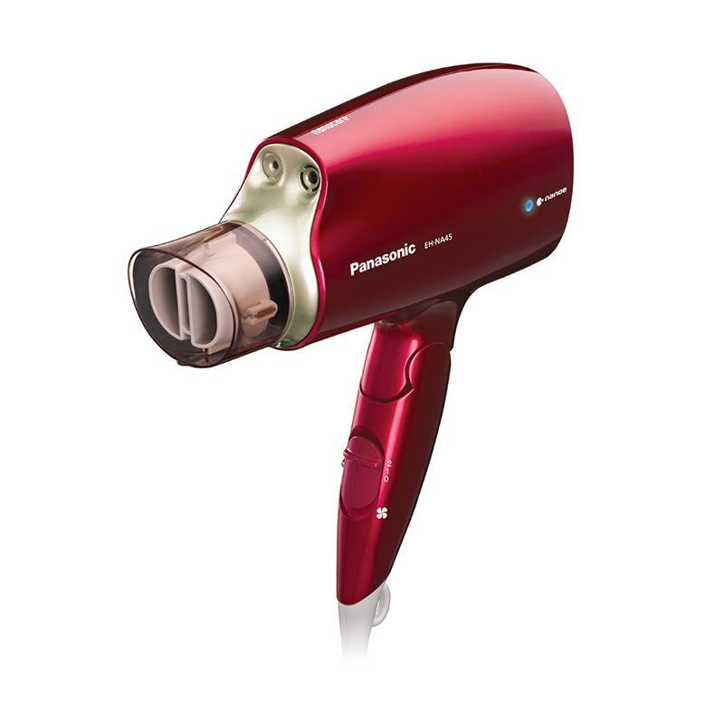 【送烘罩器】Panasonic 奈米水離子吹風機 EH-NA45/RP 桃紅