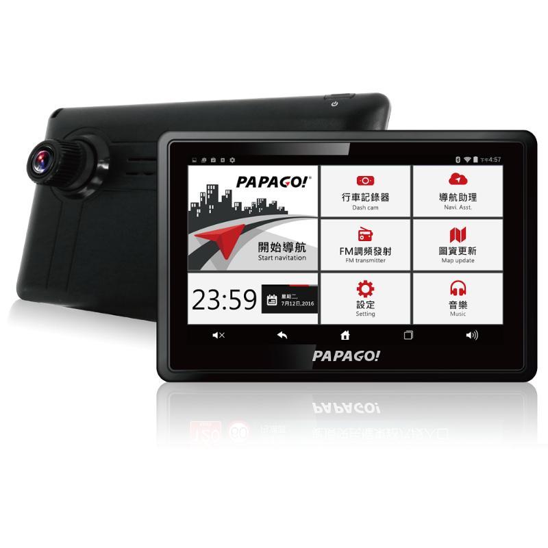 PAPAGO WayGo 810 WIFI聲控行車記錄導航機【加贈16G記憶卡+車用伸縮手機支架】