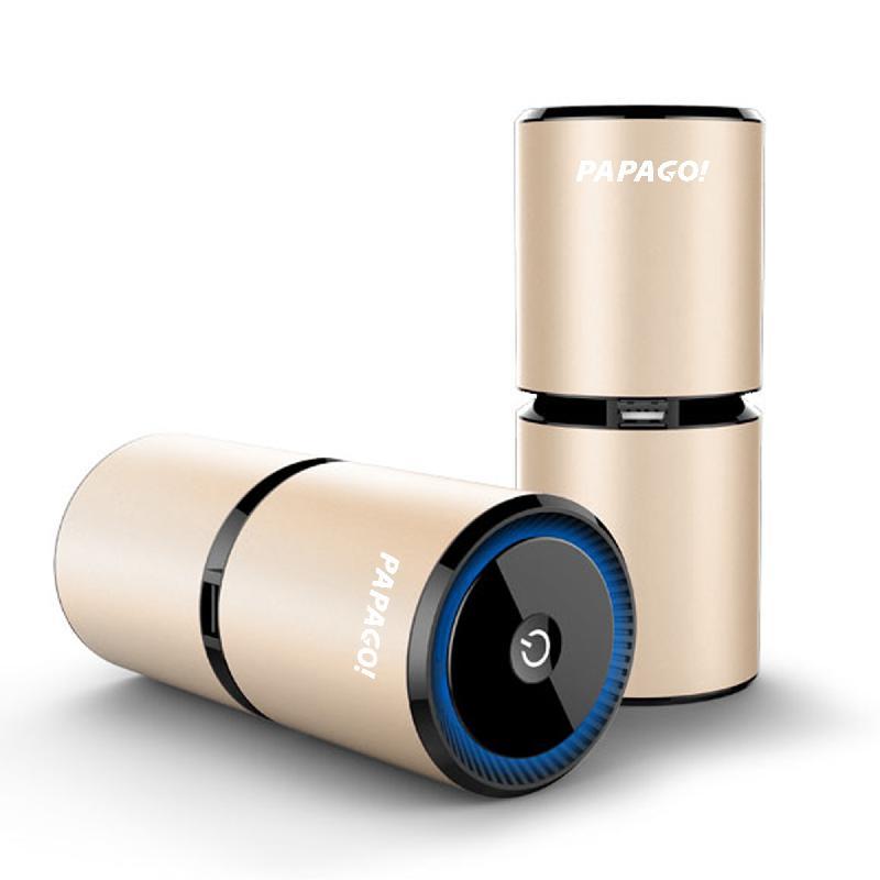 【加贈吸盤式車架】PAPAGO Airfresh S06D 高效能空氣淨化器