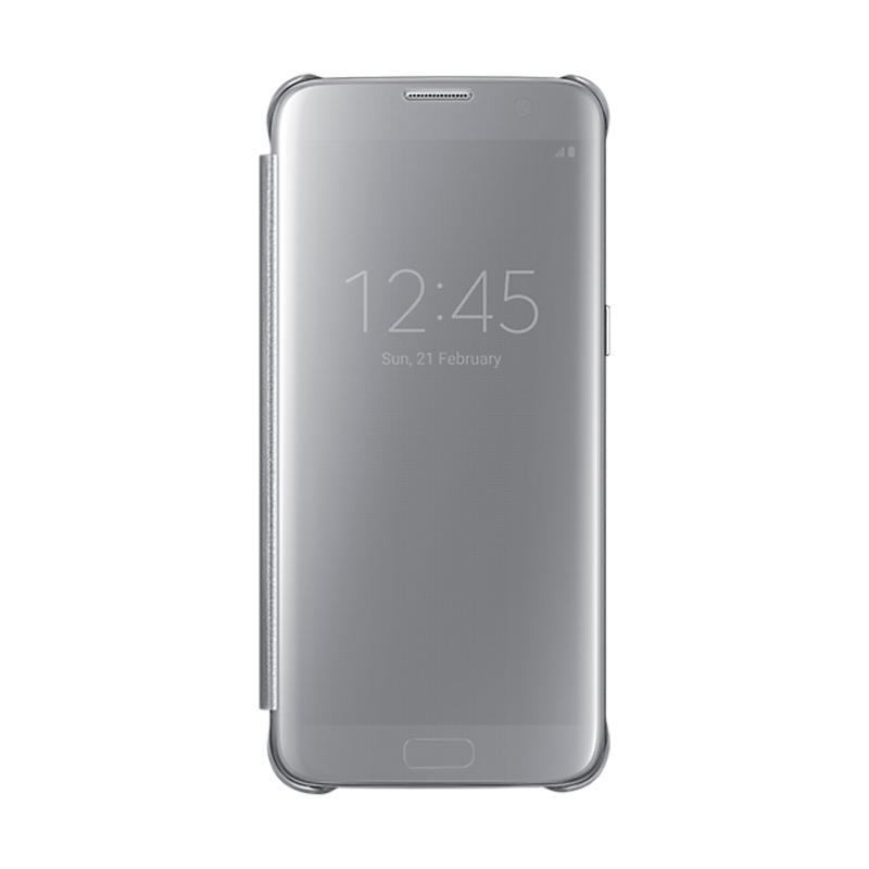 Samsung Galaxy S7 全透視感應皮套 銀色