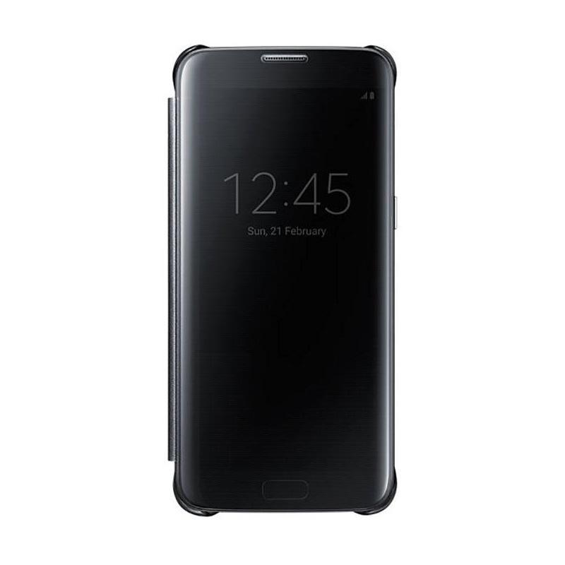 Samsung Galaxy S7 Edge 全透視感應皮套 黑色