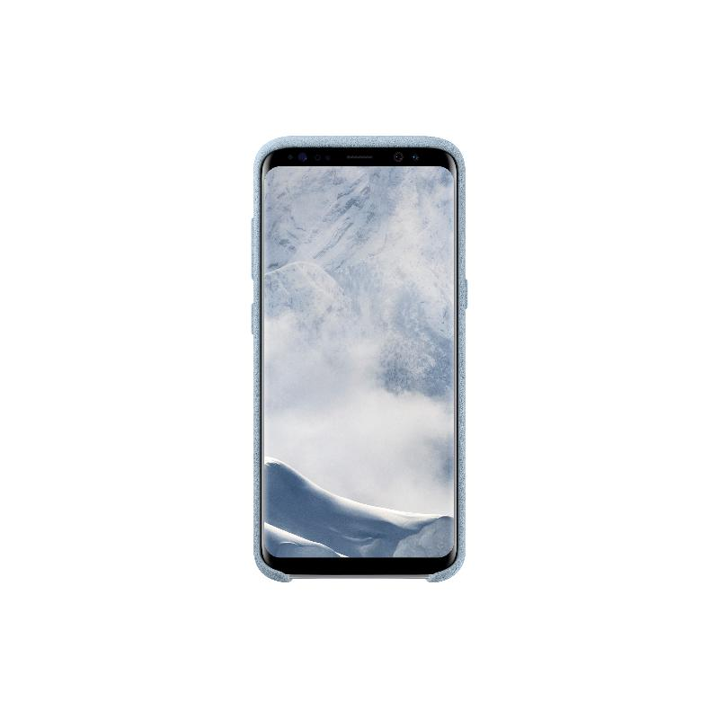 SAM Galaxy S8 plus Alcantara 義大利麂皮背蓋 薄荷色