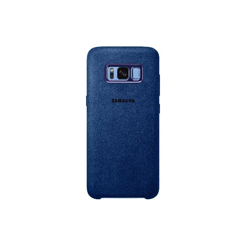 SAM Galaxy S8 plus Alcantara 義大利麂皮背蓋 藍色