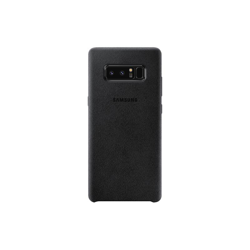 Samsung Galaxy Note8 Alcantara 義大利麂皮背蓋 黑色