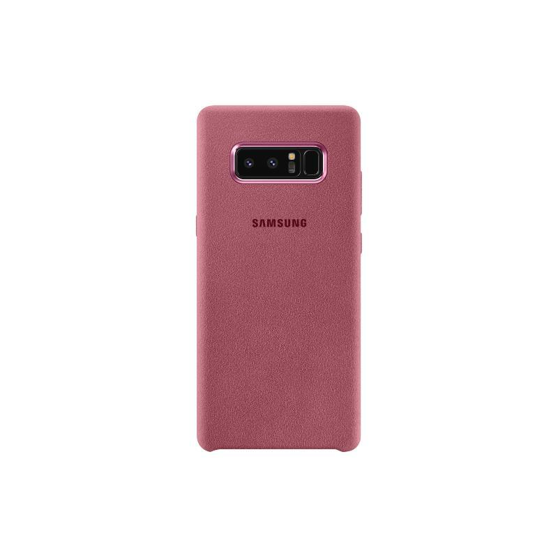 Samsung Galaxy Note8 Alcantara 義大利麂皮背蓋 粉色