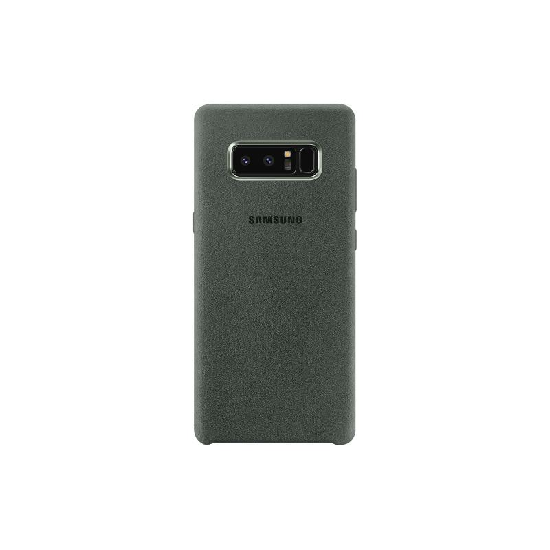 Samsung Galaxy Note8 Alcantara 義大利麂皮背蓋 綠色